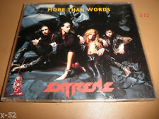 MORE THAN WORDS rare UK single CD Extreme + Nice Place to Visit LITTLE GIRLS