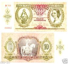 Hungary10 Pengo Banknote AU,Pick 100