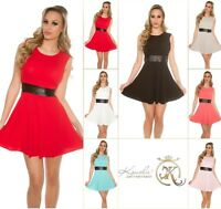 Koucla Cocktail Kleid Party Minikleid Abendkleid Dress