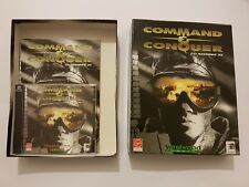 Command and Conquer juego Pc/Ordenador caja grande completo version Española