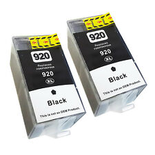 Black Ink Cartridge For HP 920XL HP920 Officejet 6000 6500 7000 7500a 6500a Plus