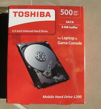 TOSHIBA laptop hard drive disque dur interne 500go