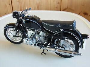 1/10 BMW R69/S Schuco 06655 Sitzbank schwarz ovp top  Motorrad Modell Rarität