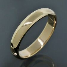 Tiffany & Co. Wedding Band 14K Yellow Gold 4.2MM Wide Ring Size 8.5