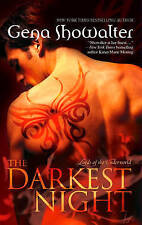 The Darkest Night by Gena Showalter (Paperback, 2009)