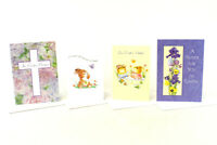 Lot of 4 Easter Greeting Cards w/ Envelopes No Writing