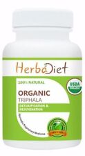 USDA Organic TRIPHALA Vegan Capsules Digestive Support Colon Cleanse Liver Detox