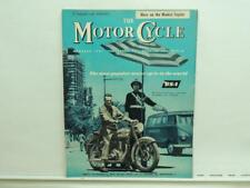 Feb 1960 The Motorcycle Magazine BSA Norton AJS Ariel Triumph Greeves L11726