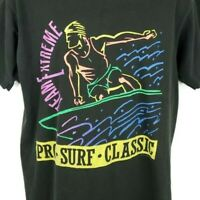 Pro Surf Classic T Shirt Vintage 90s Team Extreme Surfer Made In USA Size Large