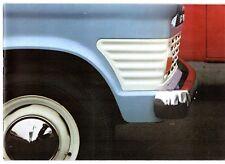 Ford Transit Mk1 1967-68 Swedish Market Sales Brochure Van Chassis Cab