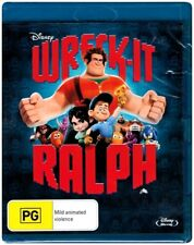 """WRECK -IT RALPH"" Blu-ray - Region Free [A,B,C] NEW"