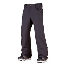 New Mens Bonfire Particle Shell Ski and Snowboard Pants XL Black Extra Large