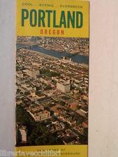 Old leaflet Cool Scenic Evergreen PORTLAND OREGON The heart million acre playgro