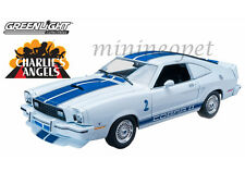 GREENLIGHT 12880 CHARLIE'S ANGELS TV SERIES 1976 76 FORD MUSTANG COBRA II 1/18 W