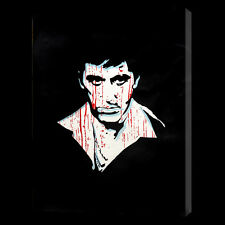 Scarface 20x14 oil painting on canvas Godfather Goodfellas Framing available