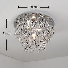 Plafonnier Lampe salon suspension Lustre Chrome 26126