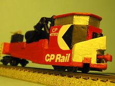 N-Scale Custom Built & Painted JORDAN SPREADER   CP RAIL