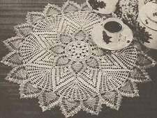 Vintage Crochet Centerpiece The Pineapple Doily 1955 PATTERN ONLY