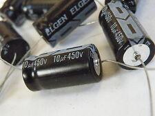 Axial Electrolytic Capacitor 450V 10uF Valve Equip Etc A450-10U EC12
