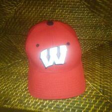 "Wisconsin Badger ""W"" ball cap sz Osfm"