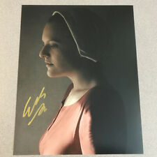 Elizabeth Moss SIGNED AUTOGRAPH  8x10 PHOTO -authentic -Handamid's Tale