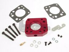 NGAP Billet Throttle Body Spacer w/ Ports Red 92-00 Honda Civic 1.5L 1.6L SOHC