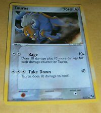POKEMON PROMO CARD - POP SERIES 2 #5/17 TAUROS (HOLO)