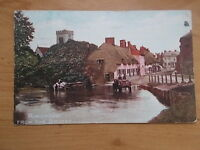 VINTAGE 1908 POSTCARD - RINGWOOD FROM THE BRIDGE - RINGWOOD - HAMPSHIRE