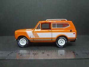 Johnny Lightning 1979 International Scout II orange - Loose New Mint 1:64