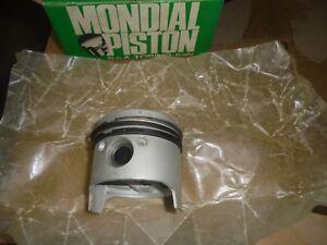 KIT 4 PISTONI MONDIAL FIAT 125 124 SPORT Coupè AC  1400 1608 80,4mm