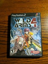 Playstation 2 Ps2 Game Wild Arms 4 Case And Game