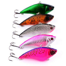5pcs 17g 7.5cm VIB VIBE Switchblade Blade Metal Fishing Lure Bream Bass Flathead