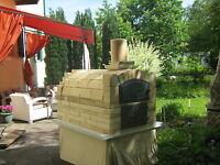 Bauanleitung für einen Holzbackofen Steinbackofen Pizzaofen Schamott Schamotte