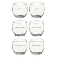 Yankee Candle Roly Poly Clear Glass Votive Holder (6/12/24 Pack) - One Size