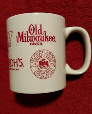 Coffee Cup Iron City Beer, Old Milwaukee Beer, Stroh's Santiago Distributing Co.