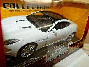 JAGUAR F-TYPE COUPE IN WHITE, BY WELLY @ 1/38th SCALE WITH  OPENING DOORS BNIB