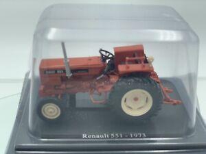 Rare Diecast Model Tractor, Renault 551, 1973, Collectors Item