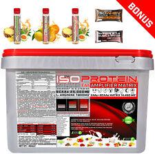 Muskelaufbau Isolate Matrix Whey 90 extrem Eiweiss Protein 5kg Glutamin Amino