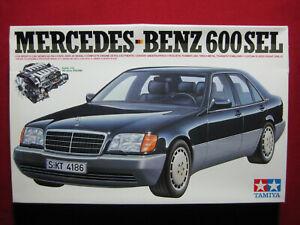 Mercedes Benz 600SEL 1/24 Tamiya Plastic Model Kit V12 DOHC S-Class Rare