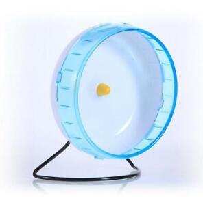 Silent Spinner Exercise Wheel for Rodent Hamster Gerbil Rat Etc Large 22cm HOT B