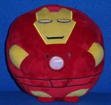 "MEDIUM 8"" TY IRON MAN BEANIE BALLZ BEANIE BABY  - NO HANG TAG"