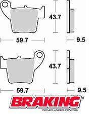 BRAKING PASTIGLIE POSTERIORI HM CRF MOTARD 450 2004-2006 BRAKE PADS REAR