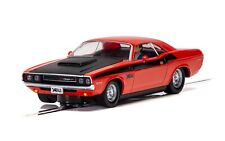 Scalextric C4065 Dodge Challenger - Red & Black 1:32 scale slot car