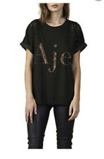 AJE Distressed T SHIRT   Size S
