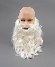 "SANTA FATHER CHRISTMAS 10"" BEARD SANTA CLAUS MEN'S FANCY DRESS COSTUME ACCESSORY"