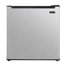 Magic Chef Freezerless Mini Fridge Stainless Steel Compact Refrigerator Home