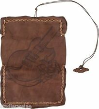 MR Bolsa para tabaco Gitarre/Bolsa de tornero/16,5 cm/Cuero marrón Antigua/