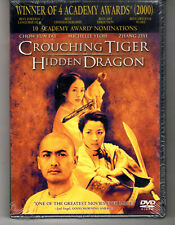 Crouching Tiger Hidden Dragon Dvd 2001 Release New Sealed
