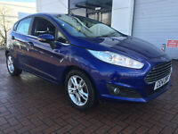 FORD FIESTA ZETEC 1.0 ECOBOOST 25K MILES  £0 RD TAX  FDSH NO RESERVE AUCTION!!