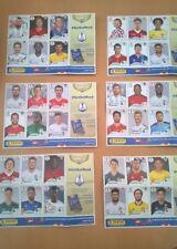 36 Panini Stickers Hoja 1,2,3,4,5 y 6 Copa del Mundo FIFA 2018 Fútbol de Rusia.